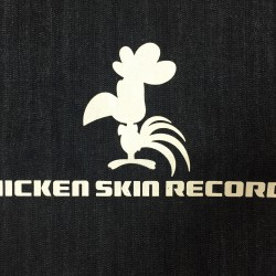チキン・スキン・レコード デニムショルダーバッグ