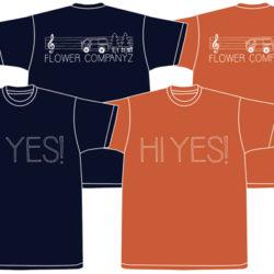 歌の中をTシャツ(オレンジ)