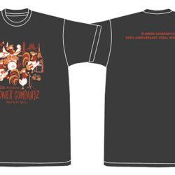 30周年ファイナルシリーズ「50×5」Tシャツ(スミクロ)