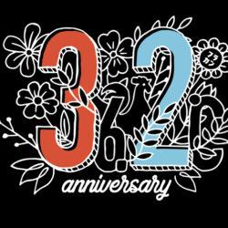 フラカンが生まれた日 – 32周年記念Tシャツ –(ブラック)
